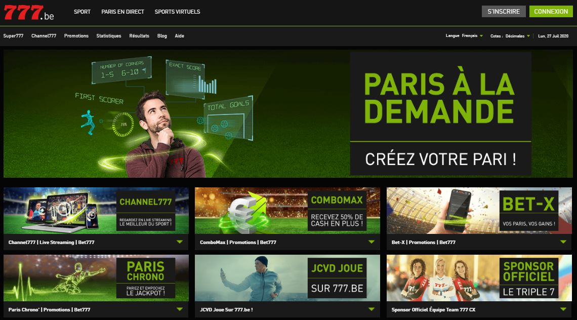 777 promotions bookmakers test et avis
