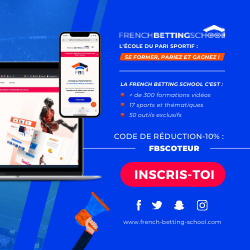 Code promo French Betting School