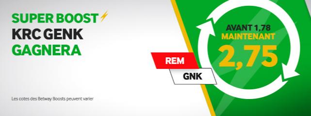 Super Boost Betway Mouscron Genk Jupiler Pro League