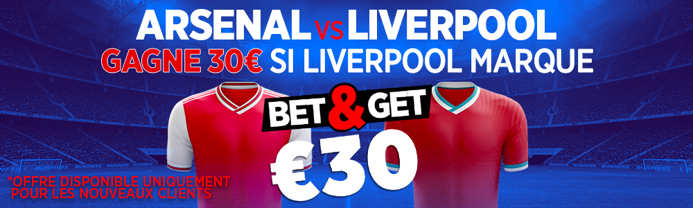 Arsenal Liverpool Ladbrokes Bet and Get Premier League