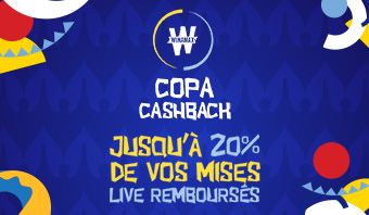 Copa America : Jusque 20% de cashback !