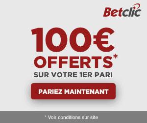 Bonus Betclic 100€ avis et test bookmaker
