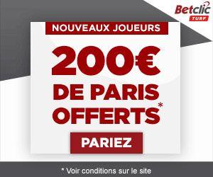 Bonus Betclic boosté à 200€ avec COTEUR !