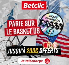 Bonus Betclic 200€ offerts