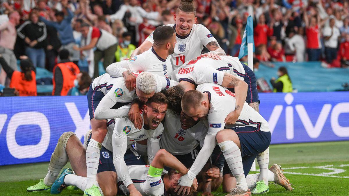 L'Angleterre rejoint l'Italie en finale de l'Euro !