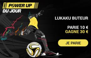 Belgique Portugal : Lukaku buteur boosté à 3.00 !