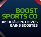 Jusque 20% de boost sur les sports collectifs aux JO !