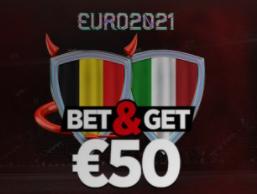 Belgique Italie : Pariez 10€ et Gagnez 50€ !