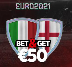 Italie Angleterre : Pariez 10€ et Gagnez 50€ !