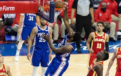 Pronostic NBA GRATUIT Atlanta Hawks Philadelphie Sixers Playoffs