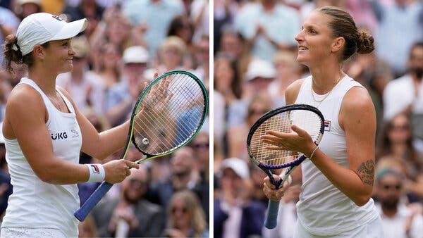 Pronostic Wimbledon GRATUIT Ashleigh Barty Karolina Pliskova