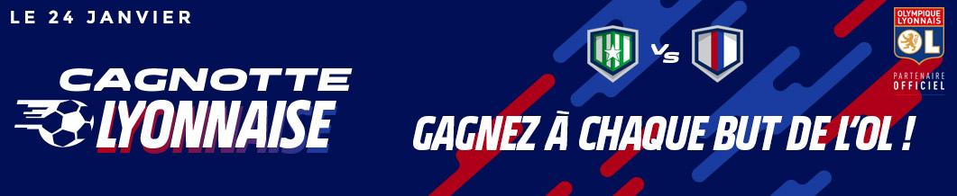 Saint Etienne Lyon Parion Sport 10€ but