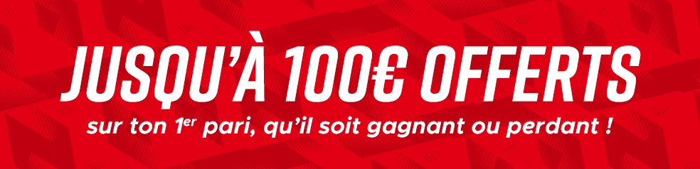 bonus Betclic 100€