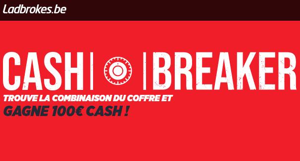 Cash Breaker : Tentez de gagner 100€ !
