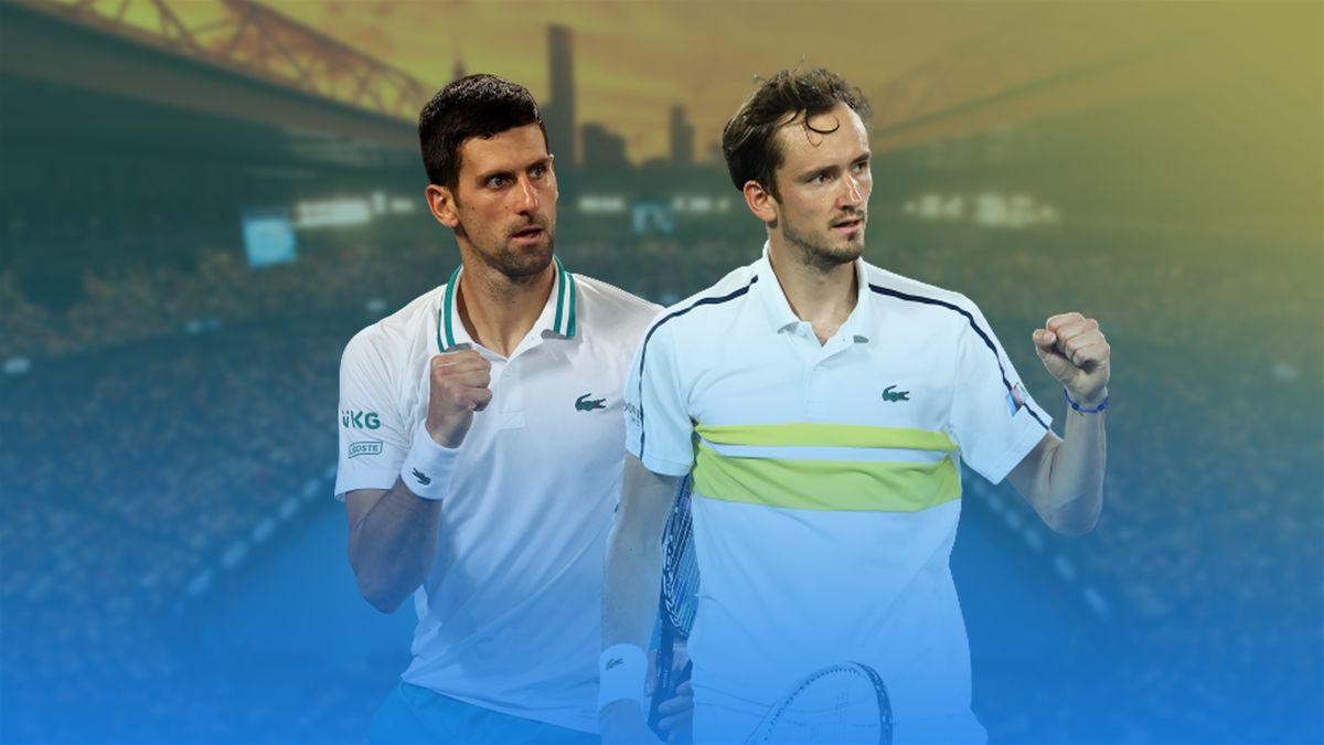 Djokovic - Medvedev : Une finale de rêve à l'Open d'Australie !