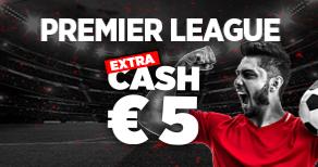 PREMIER LEAGUE : 5€ OFFERTS EN CASH PAR LADBROKES !