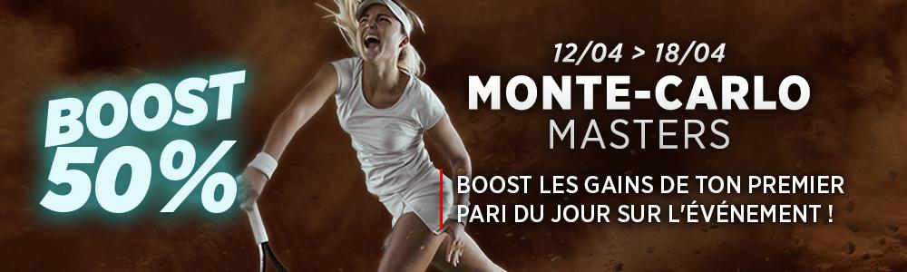 Ladbrokes Masters Monte Carlo Boost 50%