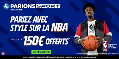 Bonus Parions Sport 150€ avis et test bookmaker