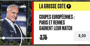 Combiné LDC : Rennes + PSG boosté sur PokerStars Sports !