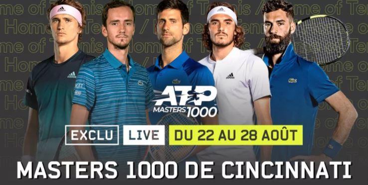 Tennis ATP : Novak Djokovic en vedette à Cincinnati !
