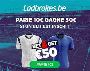 Tottenham - Chelsea : Pariez 10€ et Gagnez 50€ si 1 but est marqué !