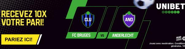Bruges Anderlecht Jupiler Pro League Unibet