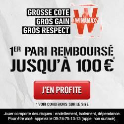Bonus 100€ winamax avis et test bookmaker