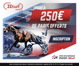 Bonus Zeturf 150€ avis et test bookmaker