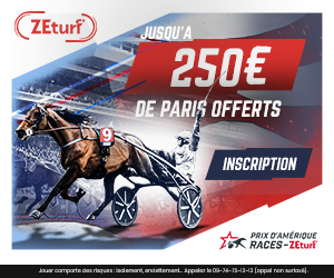 Bonus Zeturf 250€ avis et test bookmaker